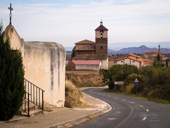 Day 9: Nájera to Santo Domingo (Cañas)