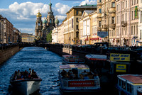Kanel Griboyedova and Church of the Saviour on the Spilled Blood, St. Petersburg