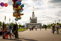 Balloons, All-Russian Exhibition Centre, Moscow
